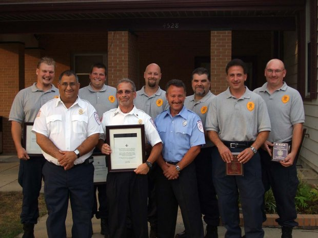 EVFC Members Honored July 16, 2007.