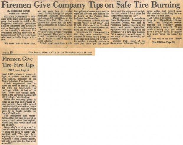 Firemen Give Company Tips 1987.jpg