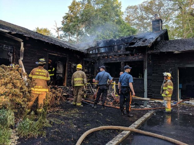 EVFC Incident #64 05232018 at 515pm - 4320 Pleasant Mills Rd in Sweetwater for a structure fire in Sweetwater A
