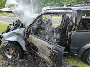 Car Fire 6-7-17