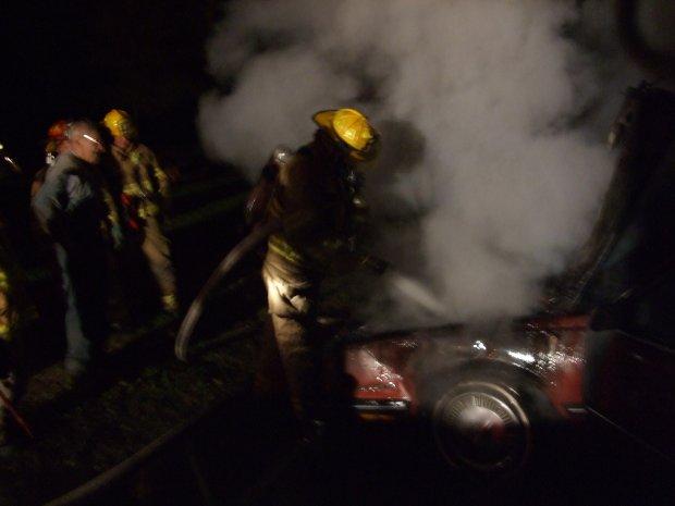 Car Fire 9-17-07-E