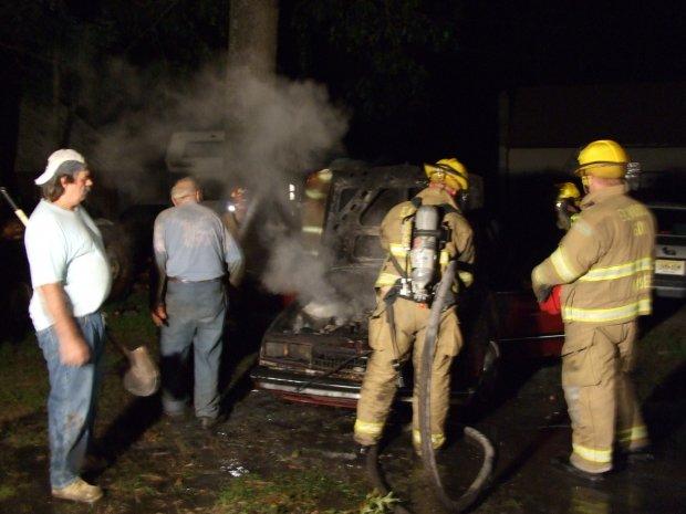 Car Fire 9-17-07-G