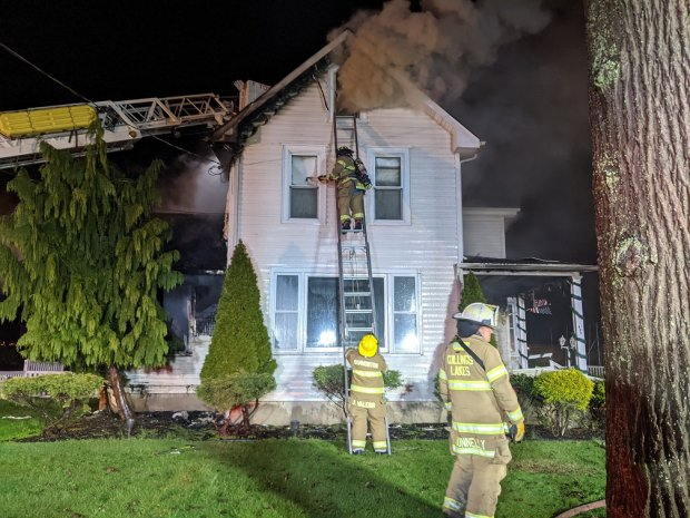 Hammonton Structure Fire 12/14/20
