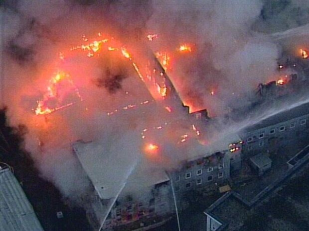 Wheaton Factory Fire
