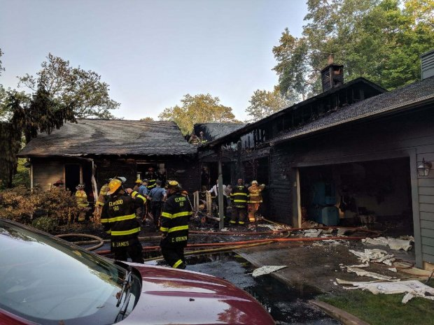 EVFC Incident #64 05232018 at 515pm - 4320 Pleasant Mills Rd in Sweetwater for a structure fire in Sweetwater B