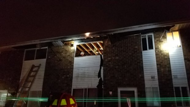 EVFC Incident #75 11/07/2017 at 10:49pm - 19 Toni Lynn Ct. in Hammonton for a Structure Fire