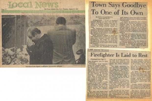 Town Says Goodby to one of Its Own Aug 23rd 1983.jpg