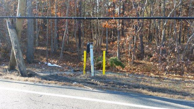 Gas line Damage 11-23-16