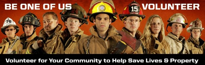 fire department volunteers needed
