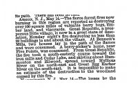 Forest Fire May 15 1880