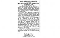 Ten Families Homeless April 30th 1900