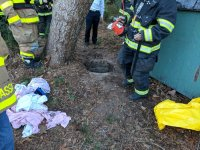 EVFC Incident #77 11/16/2017 at 2:46pm - 3626 Nesco Road for an underground rescue