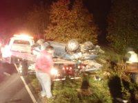Call #94 Mossmill Rd Near Darmstad Ave for MVA Overturned