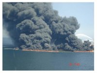 Oil Rig Fire 2010
